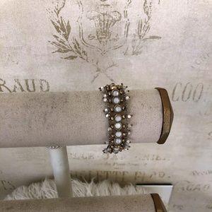 Lucky Brand Gold Tone Toggle Bracelet